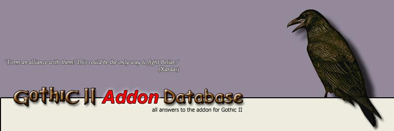 Mondgesänge - Gothic 2 Addon Database